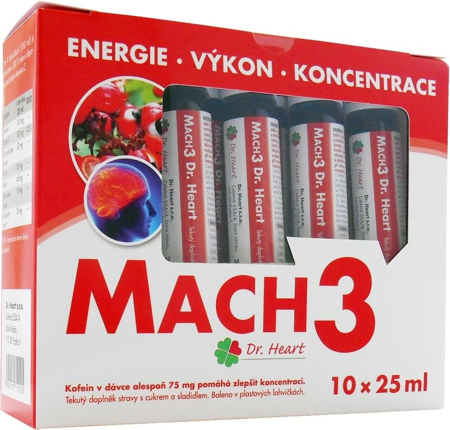 Mach3 Dr. Heart - krabička
