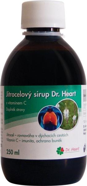 Jitrocelový sirup Dr. Heart s vitaminem C